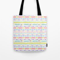 Retro Motivo Tote Bag
