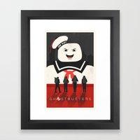 Ghostbusters Framed Art Print