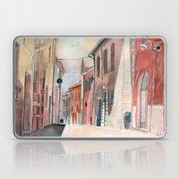 Italy, Watercolor Laptop & iPad Skin