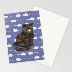Cranky Cat / Shitty Kitty Stationery Cards