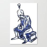 Sketchbook Variants Series: Writer's Block Canvas Print