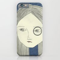 iPhone & iPod Case featuring monocle by Willy Ollero