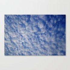 Cloud Patterns #2 Canvas Print