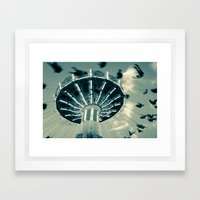 The Wave Swinger Framed Art Print