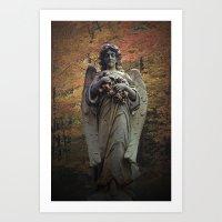 WallaAngel1 Art Print