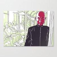 Quiet Rage Canvas Print