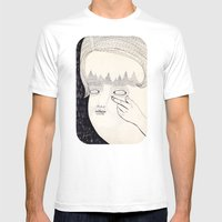 Lente de contacto Mens Fitted Tee White SMALL