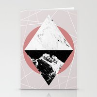 Geometric Textures 3 Stationery Cards