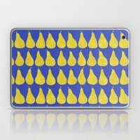15 Pears (Blue) Laptop & iPad Skin