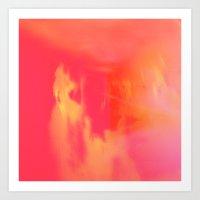 Acid Sun Art Print