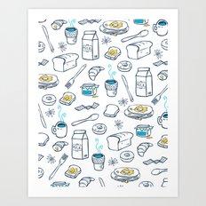 BreakfasT Art Print
