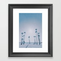 summer dissipation Framed Art Print