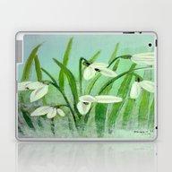 Snow Drops  Laptop & iPad Skin