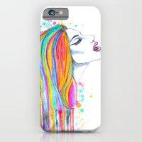 She's like a rainbow iPhone 6 Slim Case