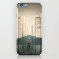iPhone Cases featuring Revenge of the Nature XIV: To the Shrine/Water Kingdom by Rafapasta