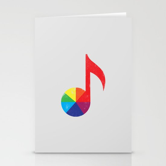 Music Theory Stationery Card