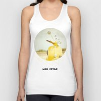 Mod Style in Yellow Unisex Tank Top