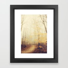 January hush Framed Art Print