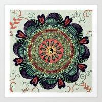 812 Multicolor Mandala Art Print