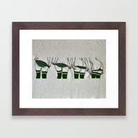 States of Undress No. 6 Framed Art Print