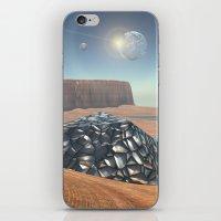 Mars Babylon Colony, view of Armageddon  iPhone & iPod Skin
