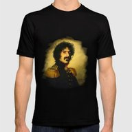 Frank Zappa - Replacefac… Mens Fitted Tee Black SMALL