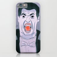 iPhone & iPod Case featuring Suarez The Vampire by Dillon Brannick