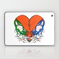 Clementine's Heart Laptop & iPad Skin