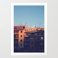 Ahava at Dusk Art Print