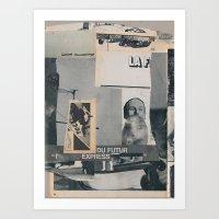 Futur Express Art Print