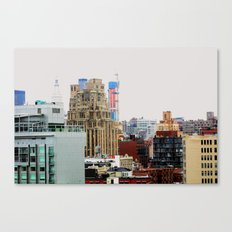 An abstract city, NYC Canvas Print
