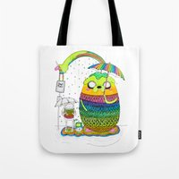 Adventure Time Totoro By… Tote Bag