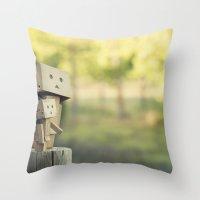 Danbo's Throw Pillow