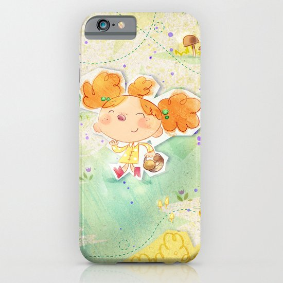 Mushroom hunt iPhone & iPod Case