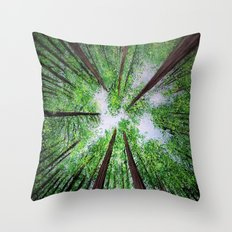 Reaching for the sky - Throw Pillow