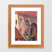 Three Arches Framed Art Print