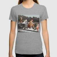 The Pond Womens Fitted Tee Tri-Grey SMALL