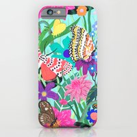 Butterflies And Moths Pa… iPhone 6 Slim Case