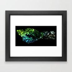 Cellular Automata Framed Art Print