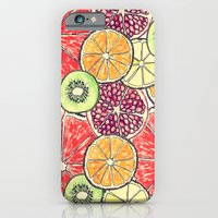 iPhone & iPod Case featuring fruit salad by Rebecca Mcmillan