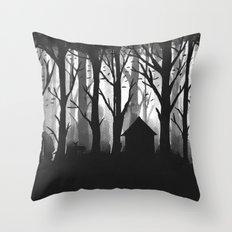 Wild Woods Throw Pillow