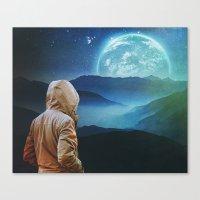 Seeking Again Canvas Print