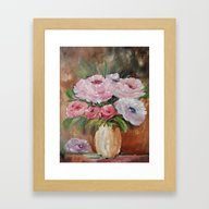 Radiance Fifth In Series Framed Art Print