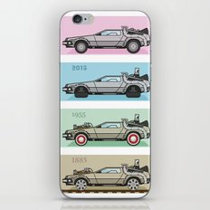 Back To The Future - Del… iPhone & iPod Skin