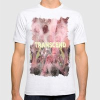 Transcend Mens Fitted Tee Ash Grey SMALL