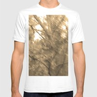 Treeage I - Sepia Mens Fitted Tee White SMALL
