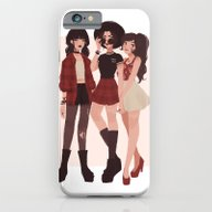 iPhone & iPod Case featuring Ozai's Angels by Punziella