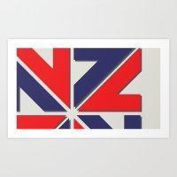 ENZED V2.0 Art Print