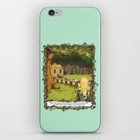 The March Hare And The H… iPhone & iPod Skin
