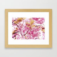 Bloom, bloom, bloom! Framed Art Print